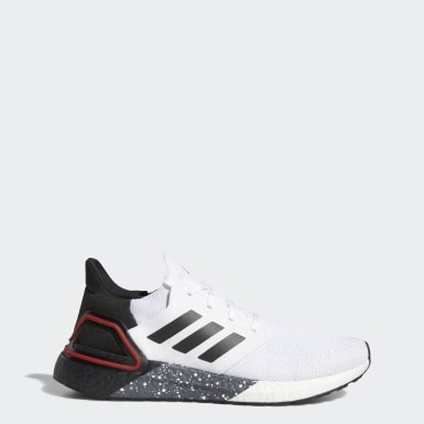 Men's Running White Ultraboost 20 Shoes