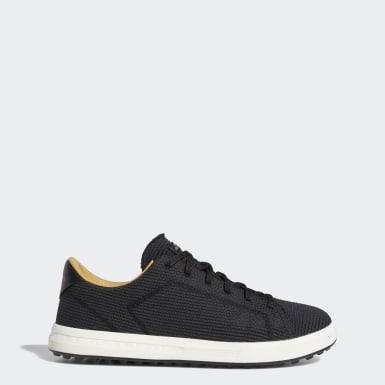 Heren Golf Zwart Adipure Schoenen