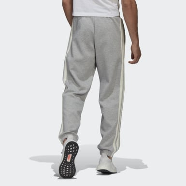 Pantaloni 3-Stripes Winter Grigio Uomo Athletics