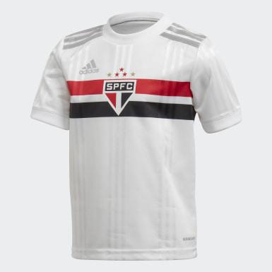Mini Kit São Paulo FC 1 (UNISEX) Branco Kids Futebol