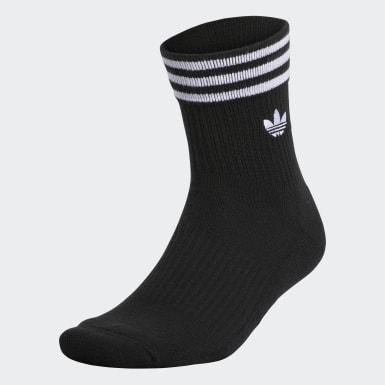 3-Stripes Welt Mid-Crew Socks
