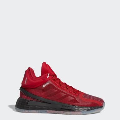 Heren Basketbal rood D Rose 11 Schoenen