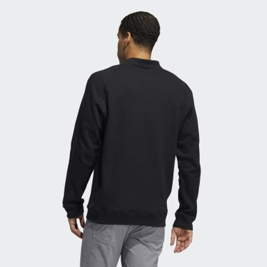 Men Golf Black Go-To Crewneck Sweatshirt