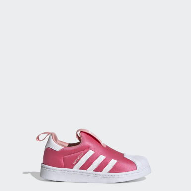 Children Originals Pink Superstar 360 Shoes