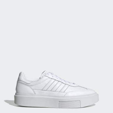 Ženy Originals biela Tenisky adidas Sleek Super 72