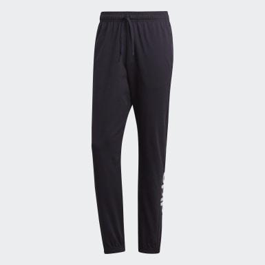 Pantalón Essentials Linear Tapered Negro Hombre Training