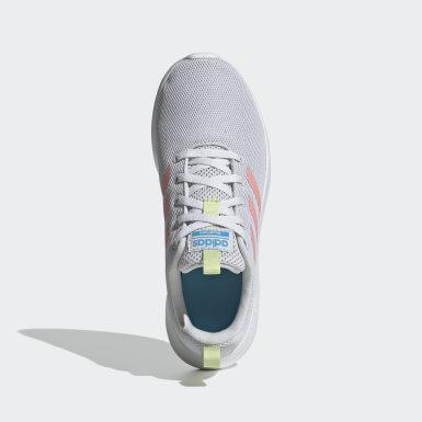 Girls Running Grey Lite Racer CLN Shoes