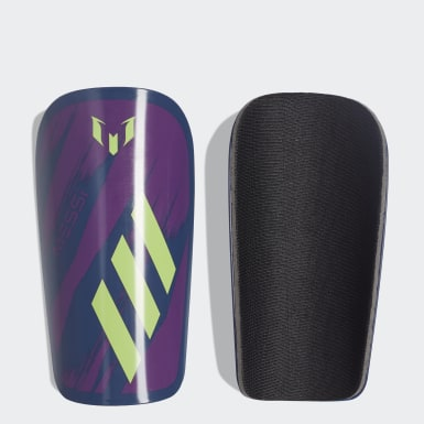 Soccer Blue Messi Club Shin Guards