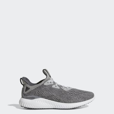 Youth Running Grey Alphabounce EM Shoes