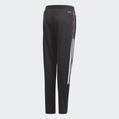 Kids Football Black Tiro 21 Training Pants