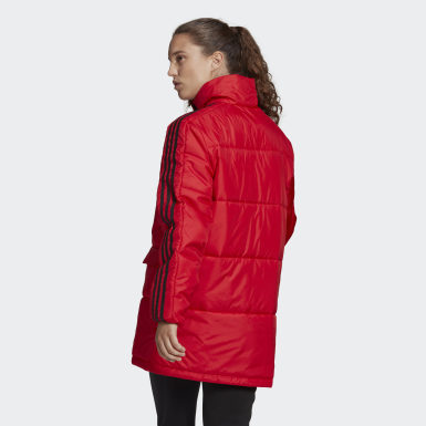 Giacca Insulated Rosso Donna City Outdoor