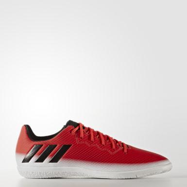 Calzado de Fútbol Messi 16.3 Indoor Rojo Niño Fútbol