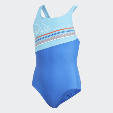 синий Слитные купальник Badge of Sport Spring Break