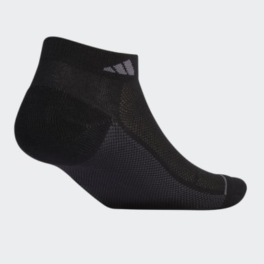 Men Training Black Superlite Stripe Low-Cut Socks 3 Pairs