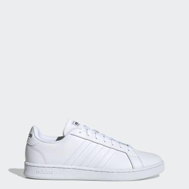 Sapatos Grand Court Branco Homem Ténis