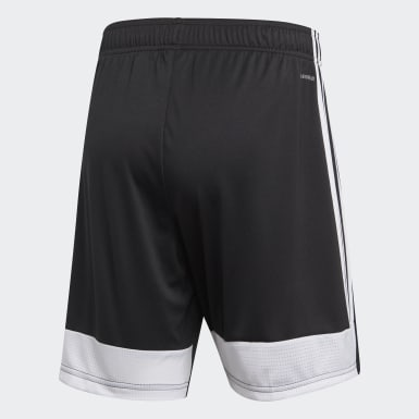 Men Soccer Black Tastigo 19 Shorts