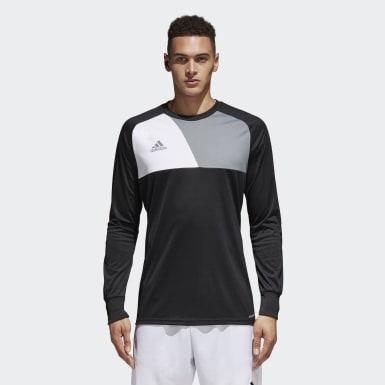 Maglia Assita 17 Goalkeeper Nero Uomo Calcio