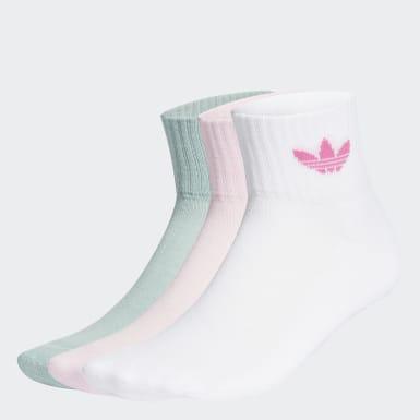 Chaussettes Mid-Cut (3 paires) blanc Originals
