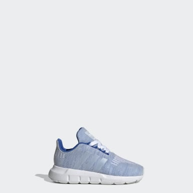 Chaussure Swift Run Bleu Enfants Originals
