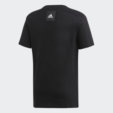 Playera Sport ID Negro Niño Training