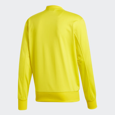 Men Football Yellow Condivo 18 Track Top
