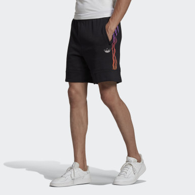 Shorts Moletom SPRT Foundation Preto Homem Originals