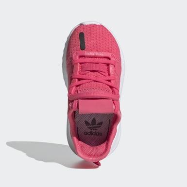 Deti Originals ružová Tenisky U_Path Run