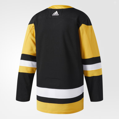 Maillot Penguins Domicile Authentique Pro noir Hockey