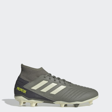 Football Green Predator 19.3 Firm Ground Boots