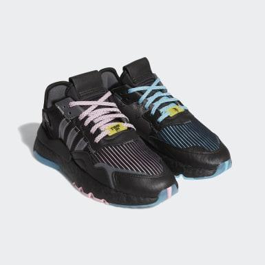 Sapatos Nite Jogger Ninja Preto Criança Originals