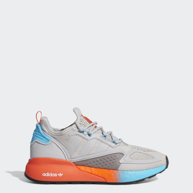 Women's Originals Grey ZX 2K Boost Shoes