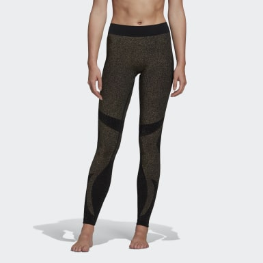 Frauen Studio Studio Motion Tight Gold