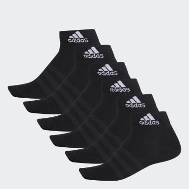 เทรนนิง สีดำ ถุงเท้าหุ้มข้อ (6 คู่)