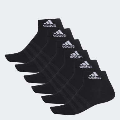 Training Black Ankle Socks 6 Pairs