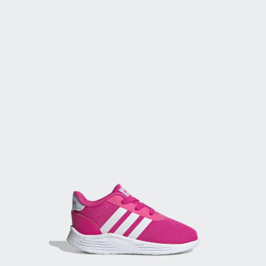 Kids Sport Inspired Pink Lite Racer 2.0 Shoes