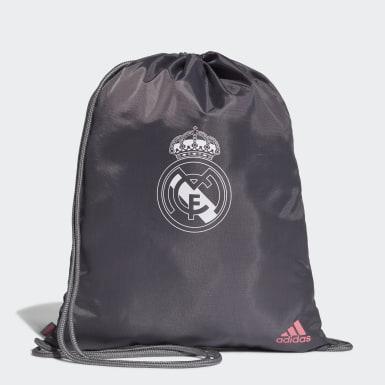 Voetbal Grijs Real Madrid Gym Tas