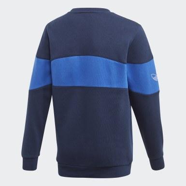 Sweatshirt Bandrix Azul Criança Originals