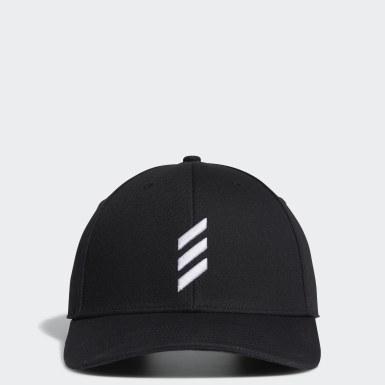 Golf Black Adicross Bold Stripe Cap