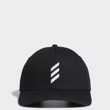 Men's Golf Black Adicross Bold Stripe Hat