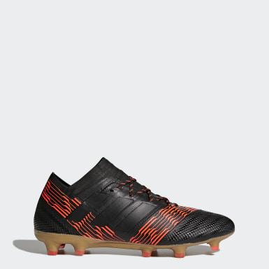 Calzado de fútbol Nemeziz 17.1 césped natural seco Negro Hombre Fútbol