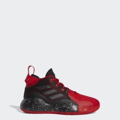 Kinder Basketball D Rose 773 2020 Schuh Rot
