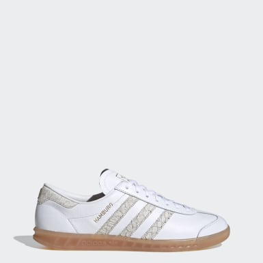 Women Originals White Hamburg Shoes