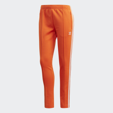 Women Originals Orange SST Track Pants