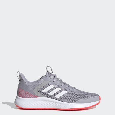 Women Running Grey Fluidstreet Shoes