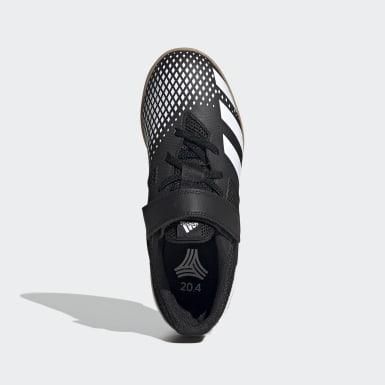 เด็กผู้ชาย ฟุตบอล สีดำ รองเท้าฟุตซอลในร่ม Predator Mutator 20.4