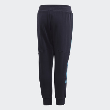 Boys Training Blue Spider-Man Tapered Leg Joggers