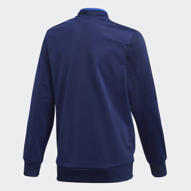 Kids Training Blue Condivo 18 Track Top
