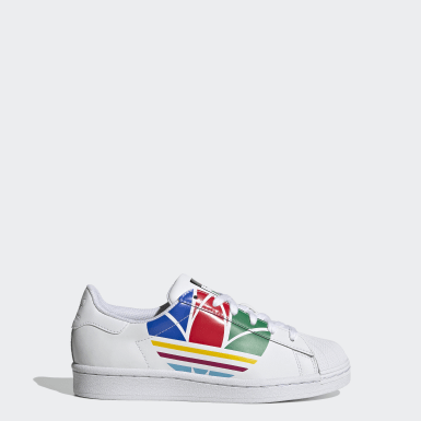 Kids Originals White Superstar Pure Shoes