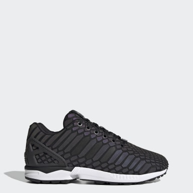 Men Originals Black ZX Flux Shoes