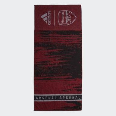 Toalha de algodão do Arsenal Preto Natação